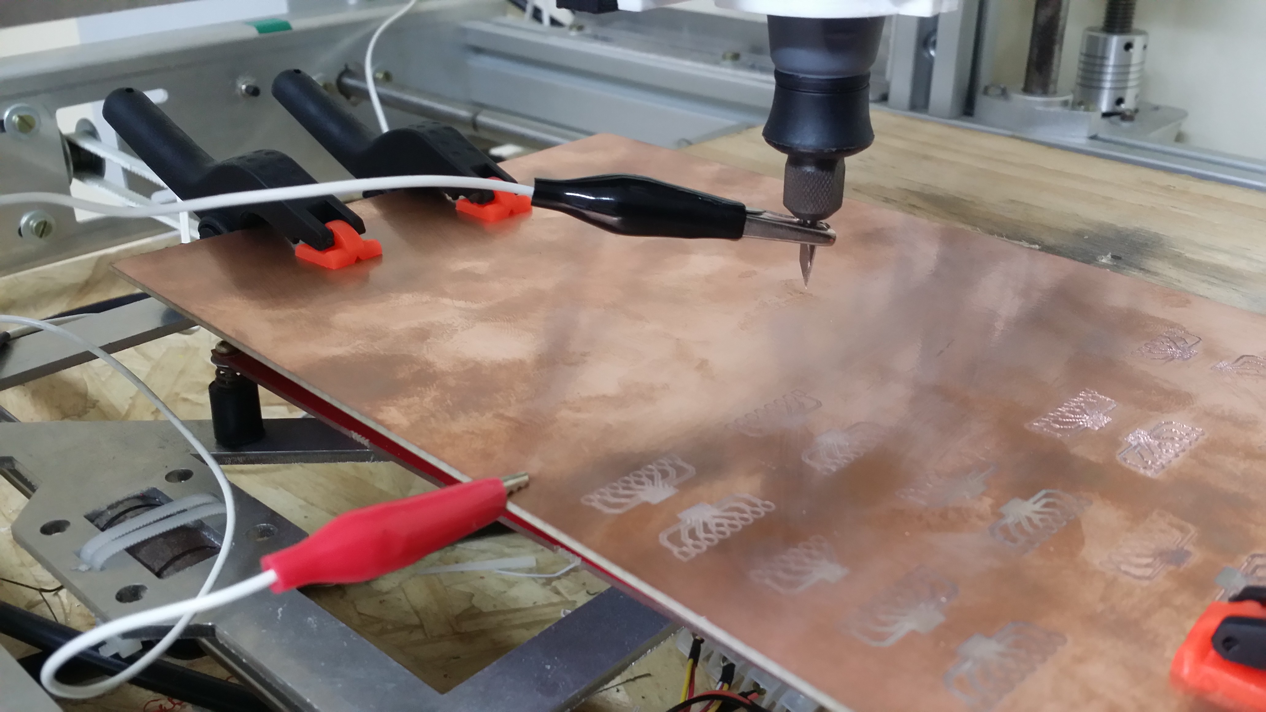 Using Marlin's auto leveling for PCB milling – Martin's den